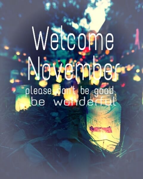 Cute Welcome November Images