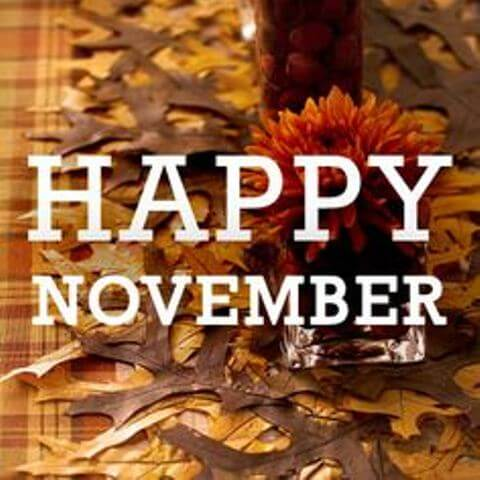 Happy November Images Facebook