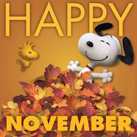 Happy November Images Free