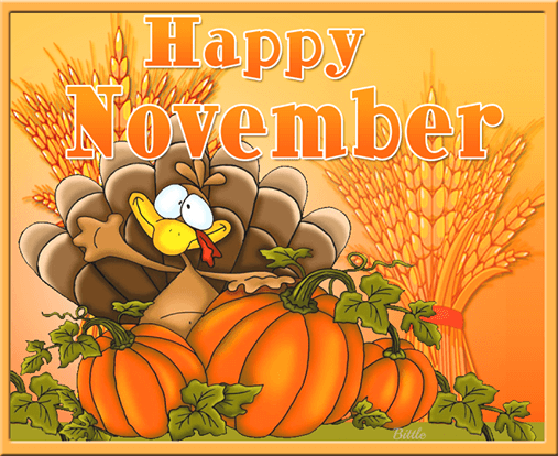 Happy November Images
