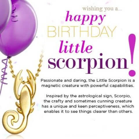 November Birthday Quotes Images