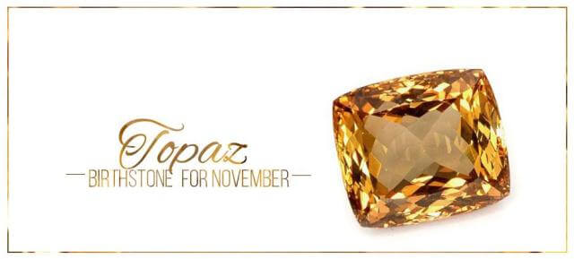 November Birthstone Color Topaz