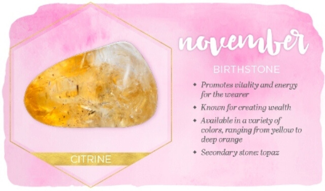 November Birthstone Meaning And Facts