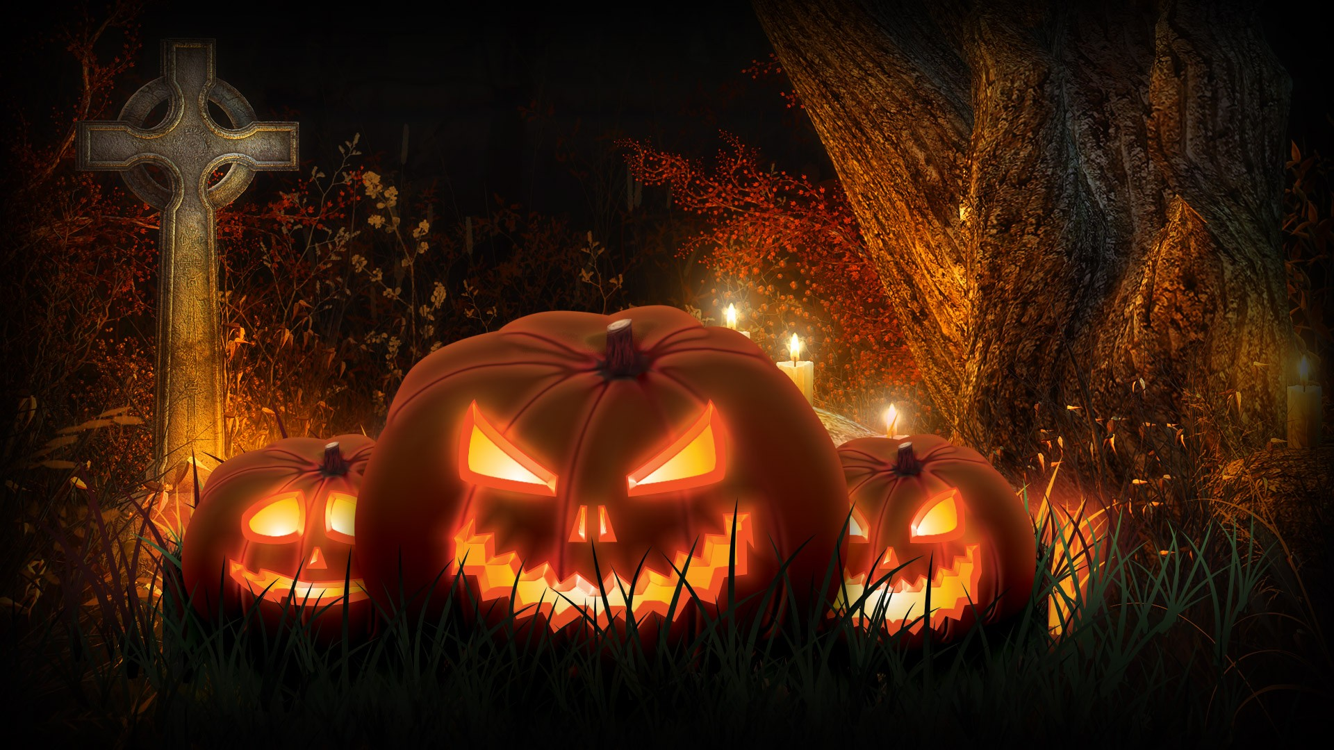 Scary Halloween Images HD Free