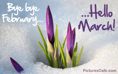 Hello March Images Free