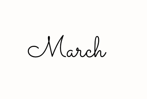 Hello March Tumblr Pictures Photos