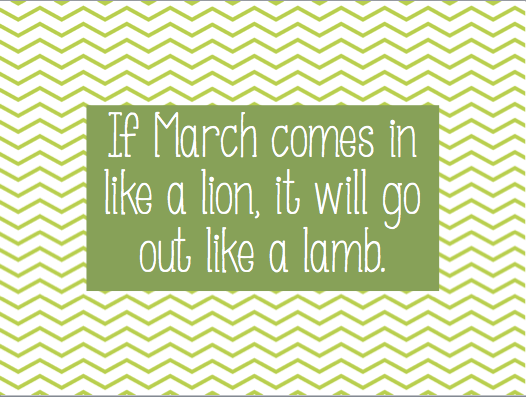 March Quotes And Sayings