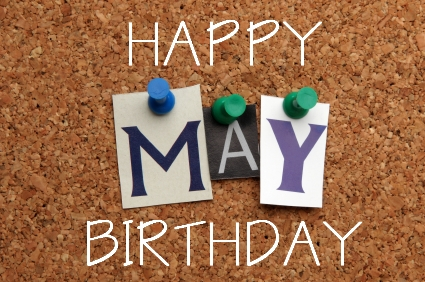 Happy Birthday May Month