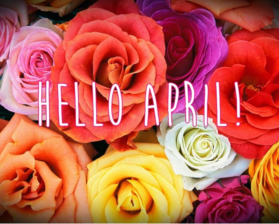 Hello April Wallpaper