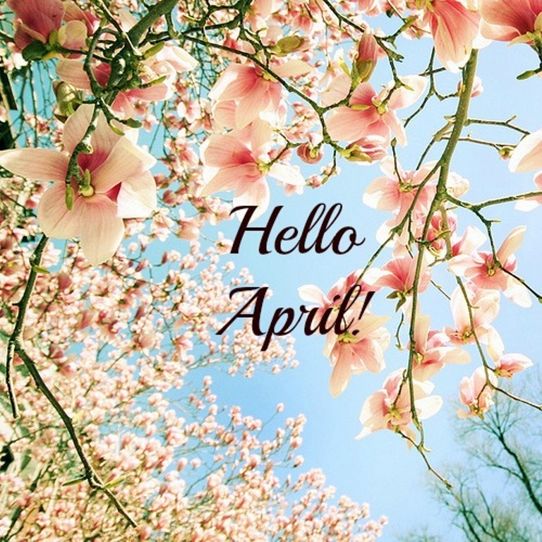 Hello April Facebook