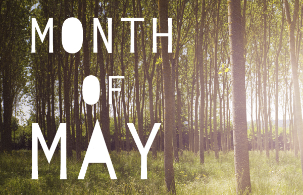 Month of May Images