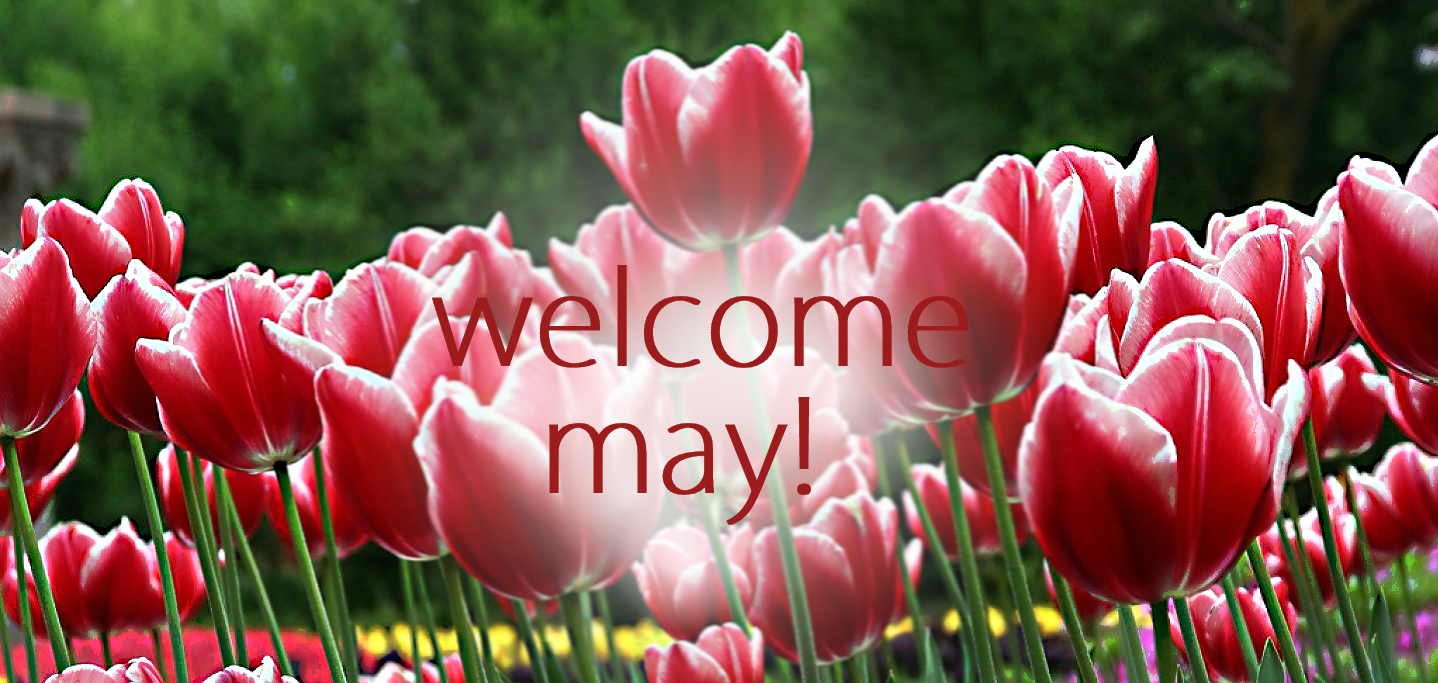Welcome May Facebook Cover