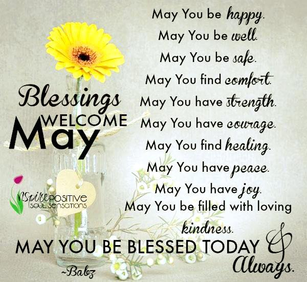Welcome May Month Quotes