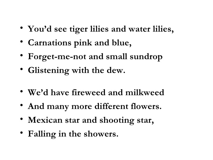 may flowers poem