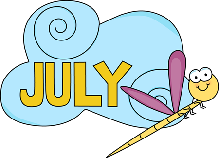 Free Download July Clipart