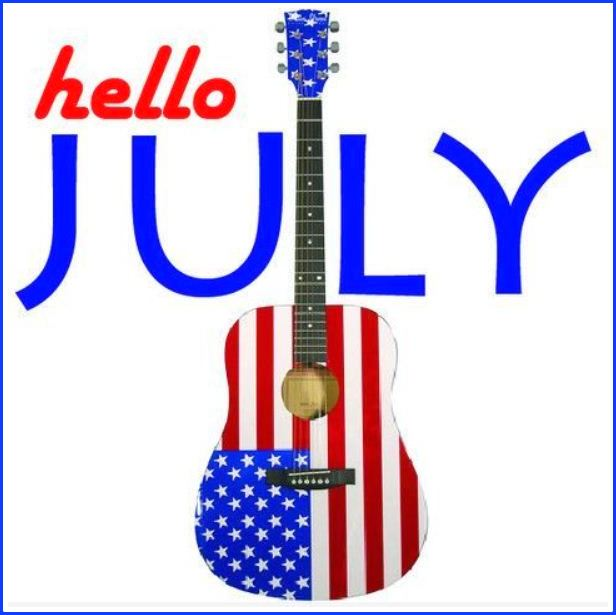 Hello July Clip Art Images