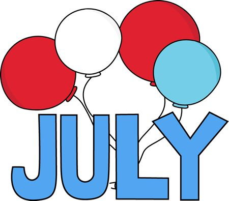 July Clipart Birthday Images