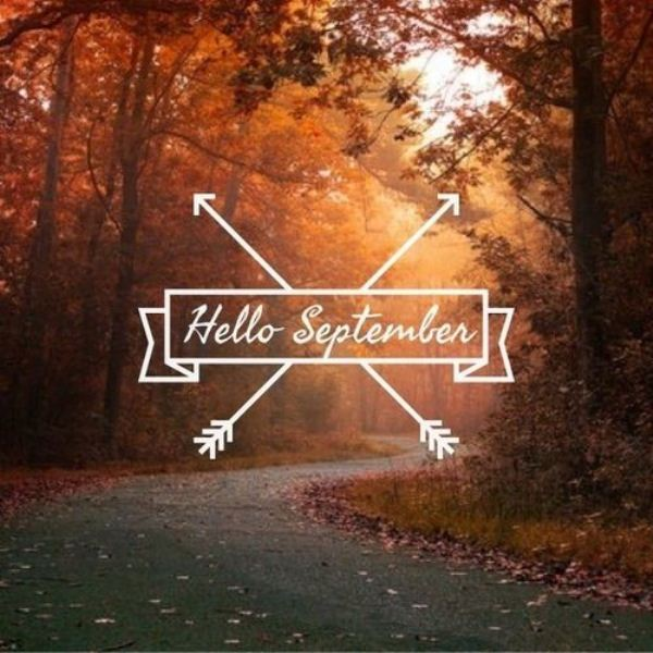 Hello September Month Images