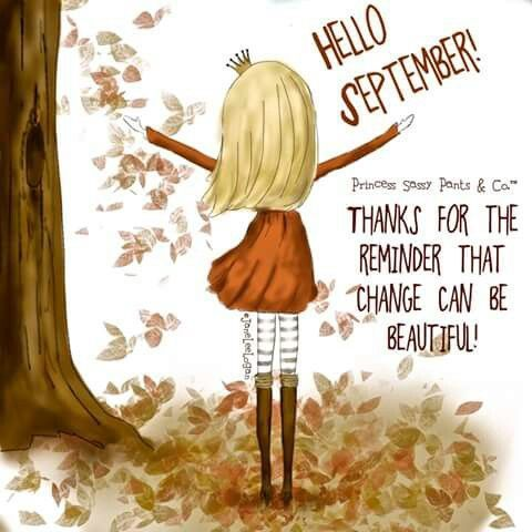 Welcome September Blessing Quotes