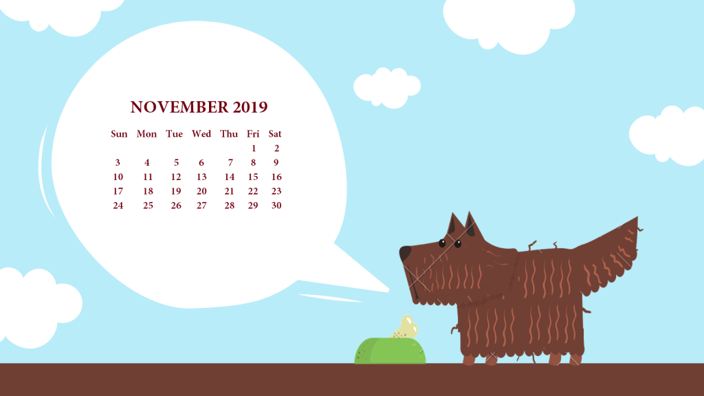 November 2019 Calendar Wallpaper For Desktop