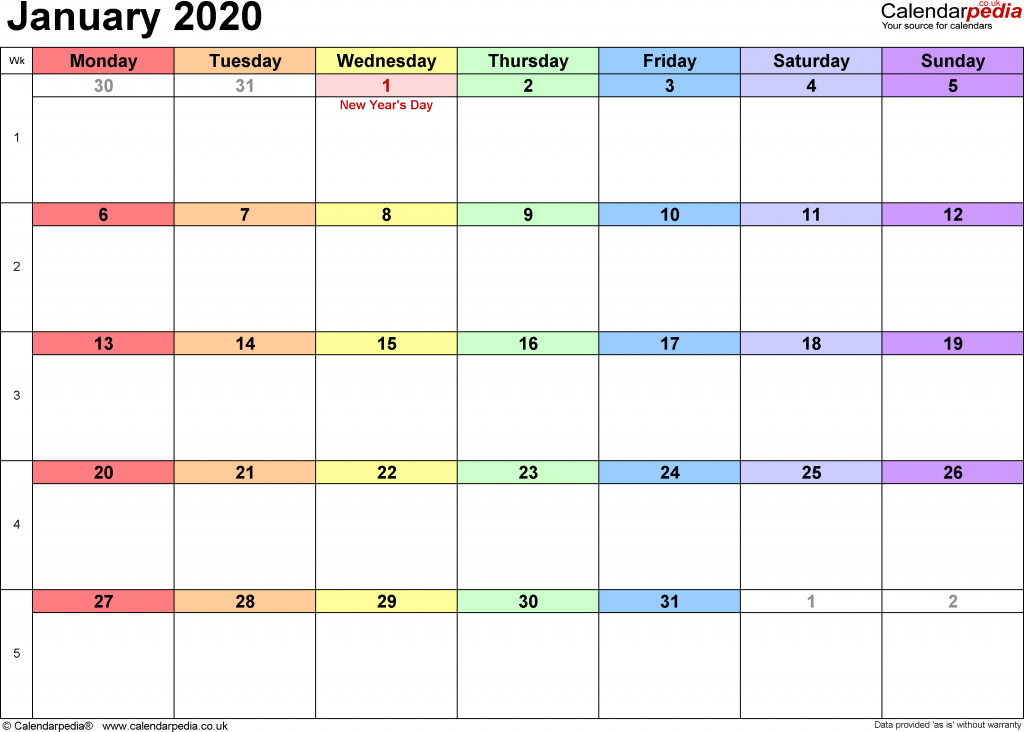 january 2020 holidays uk