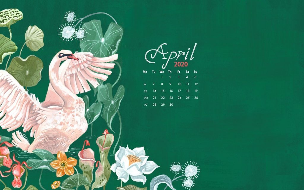 April 2020 Calendar Wallpaper For Laptop